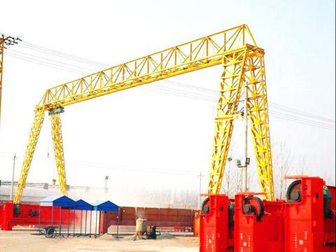 4 ton gantry crane of truss structure