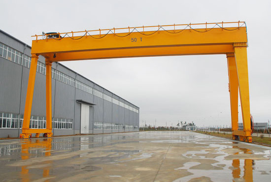 Double Girder 50 Ton Gantry Crane